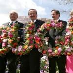 2005 Bundesgartenschau, Eröffnung mit den Ministerpräsidenten Edmund Stoiber und Matthias Platzeck