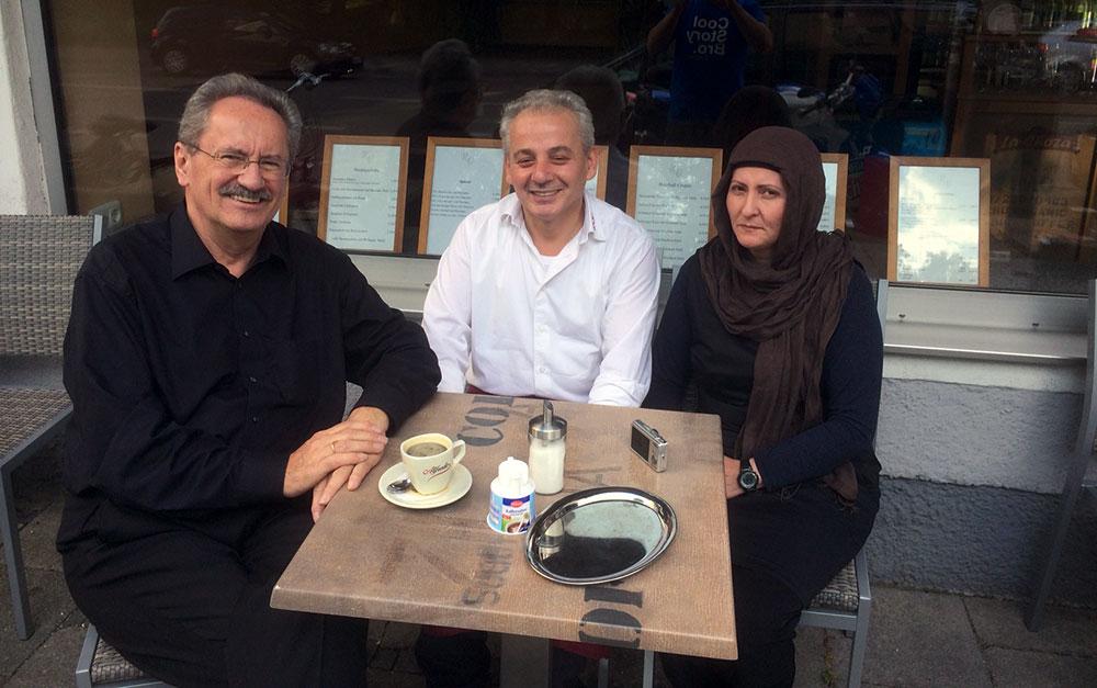 Im türkischen Café an der Schleißheimer Straße